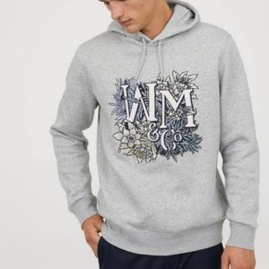 H&M × William Morris WM&Co Embroidered Hoodie